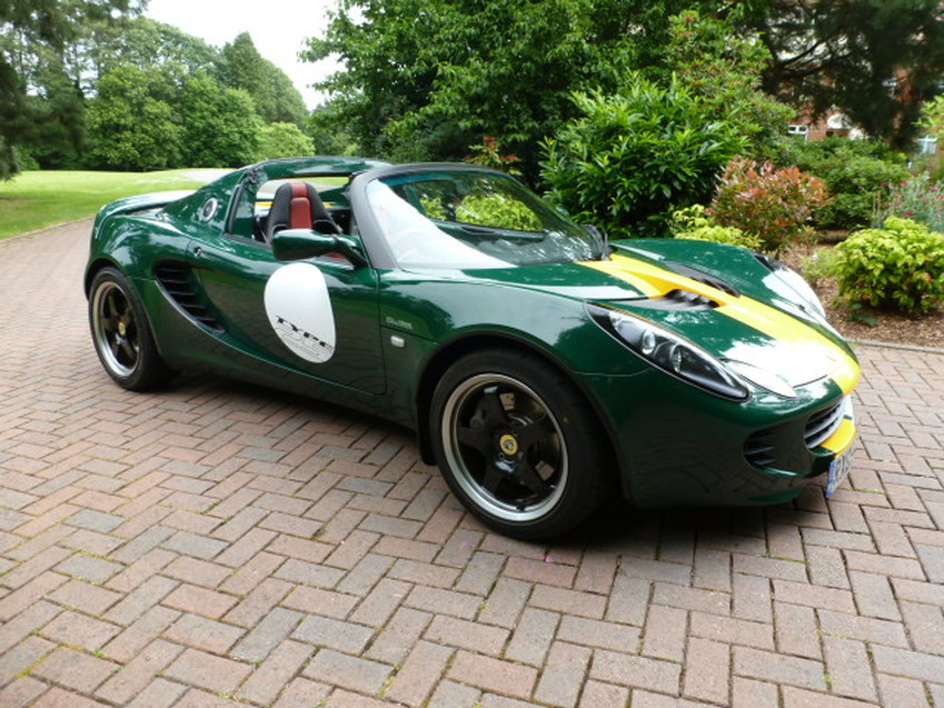 View LOTUS ELISE SC TYPE 25 JIM CLARK